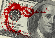 Blood Money Stock Photos