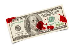 Blood Money stock images