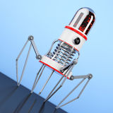 Blood Nano Robot with Camera, Claws and Needle. 3d Rendering Royalty Free Stock Images