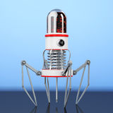 Blood Nano Robot with Camera, Claws and Needle. 3d Rendering Stock Photography
