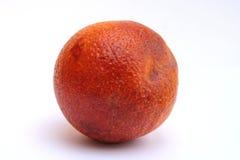 Blood Orange. Isolated image of a single blood orange Stock Images