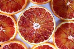 Blood orange. Slices Royalty Free Stock Photos