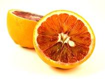 Blood orange. The blood orange is a variety of orange (Citrus sinensis) with crimson, blood-colored flesh Stock Images