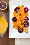 Blood Orange - Carrot Salad Stock Image