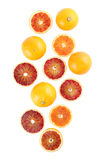 Blood orange cluster Stock Photography