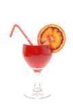 Blood orange cocktail Stock Image