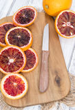 Blood Orange stock images