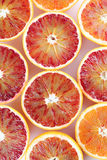 Blood orange halves Royalty Free Stock Image