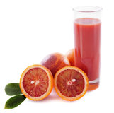 Blood orange and juice Royalty Free Stock Photography