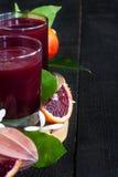 Blood orange juice background Stock Image