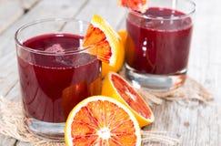 Blood Orange Juice royalty free stock photos