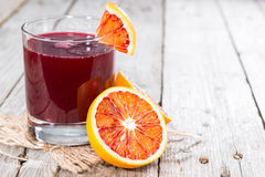Blood Orange Juice stock photos