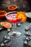 Blood Orange Margarita Royalty Free Stock Image