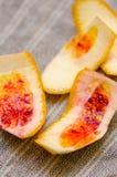 Blood-orange peel Royalty Free Stock Photos