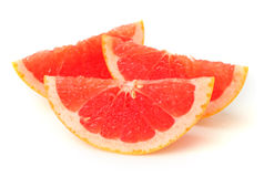 Blood orange slice Stock Images