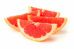 Blood orange slice Royalty Free Stock Images