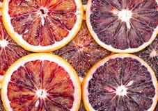 Blood Orange Slices Royalty Free Stock Images