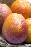 Blood oranges stock photos