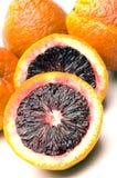 Blood oranges. Citrus fruit group fresh stock photo