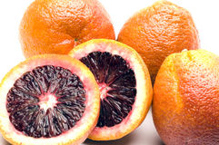Blood oranges Stock Photos