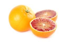 Blood oranges Stock Photo