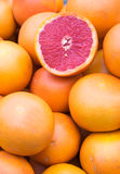 Blood oranges for sale Royalty Free Stock Photo
