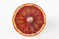 Blood orange slice Royalty Free Stock Photo