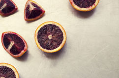 Blood Oranges Royalty Free Stock Images