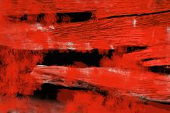 Blood paint on wood abstarct Haloween background Stock Image