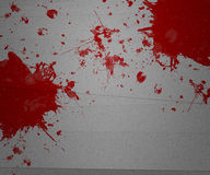 Blood on Paper Stock Photos