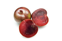 Blood Plums Stock Photo