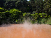 Blood Pond Hell in Beppu Royalty Free Stock Image