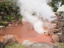Blood Pond Hell in Beppu Royalty Free Stock Photography