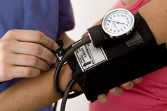 Blood pressure Stock Image