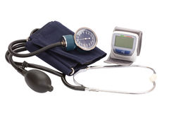 Blood pressure Stock Photo