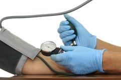 Blood pressure Stock Image