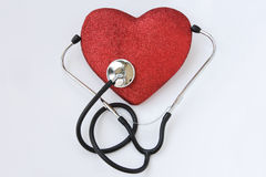 Heart blood pressure care. A concept image about blood pressure care royalty free stock image