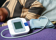 Blood Pressure Check Stock Photos