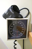 Blood Pressure Diagnostic Instrument Royalty Free Stock Image
