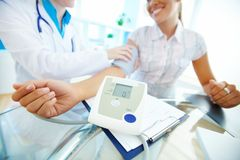 Blood pressure equipment Stock Photos