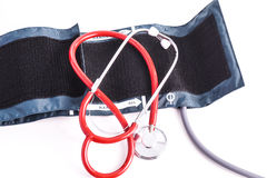 Blood pressure examination Royalty Free Stock Photography