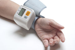 Blood pressure gauge Stock Image