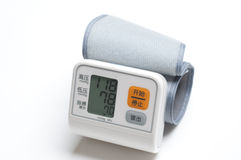 Blood pressure gauge Stock Photography