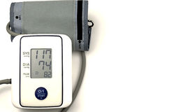 Blood pressure gauge Stock Photo