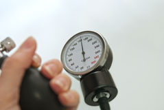High Blood Pressure Stock Image
