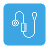 Blood pressure gauge isolated icon Stock Photos