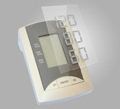 Digital Blood Pressure monitor Royalty Free Stock Photo
