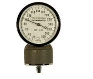 Blood pressure guage Royalty Free Stock Image
