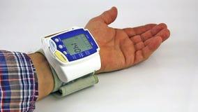 Blood pressure stock video footage