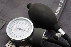 Blood pressure measure Stock Photo